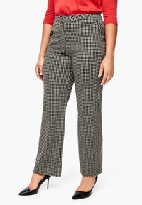 Triangle - Chinos - black houndstooth - 3