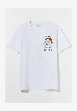 RICK &AMP - T-shirt con stampa - white