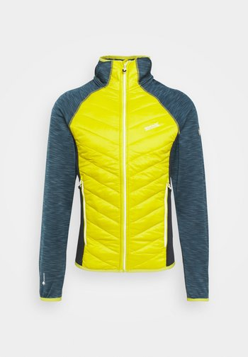 ANDRESON VI HYBRID - Outdoorjakke - blue/yellow