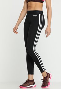 adidas Performance - Legging - black/white - 0