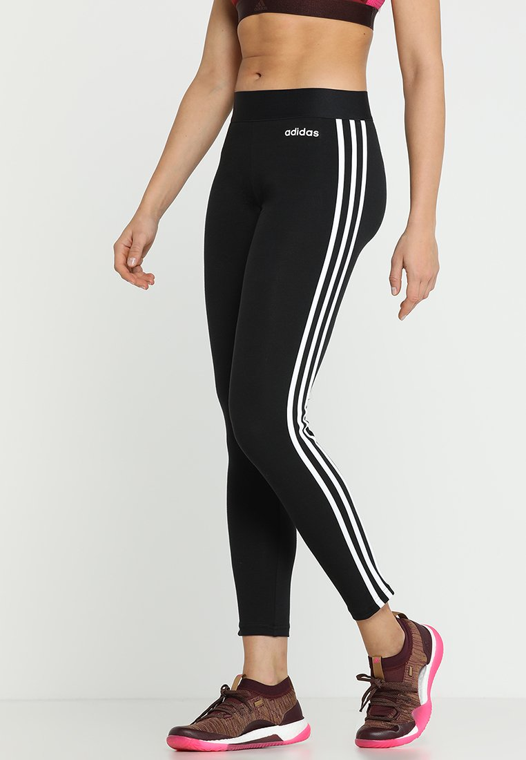 adidas Performance - Legging - black/white