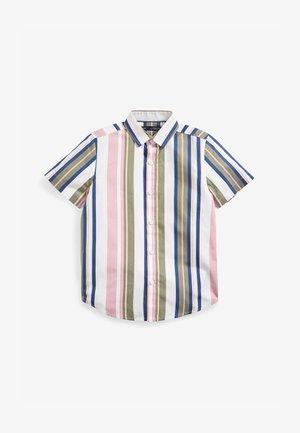 STRIPE - Camicia - pink / blue / green