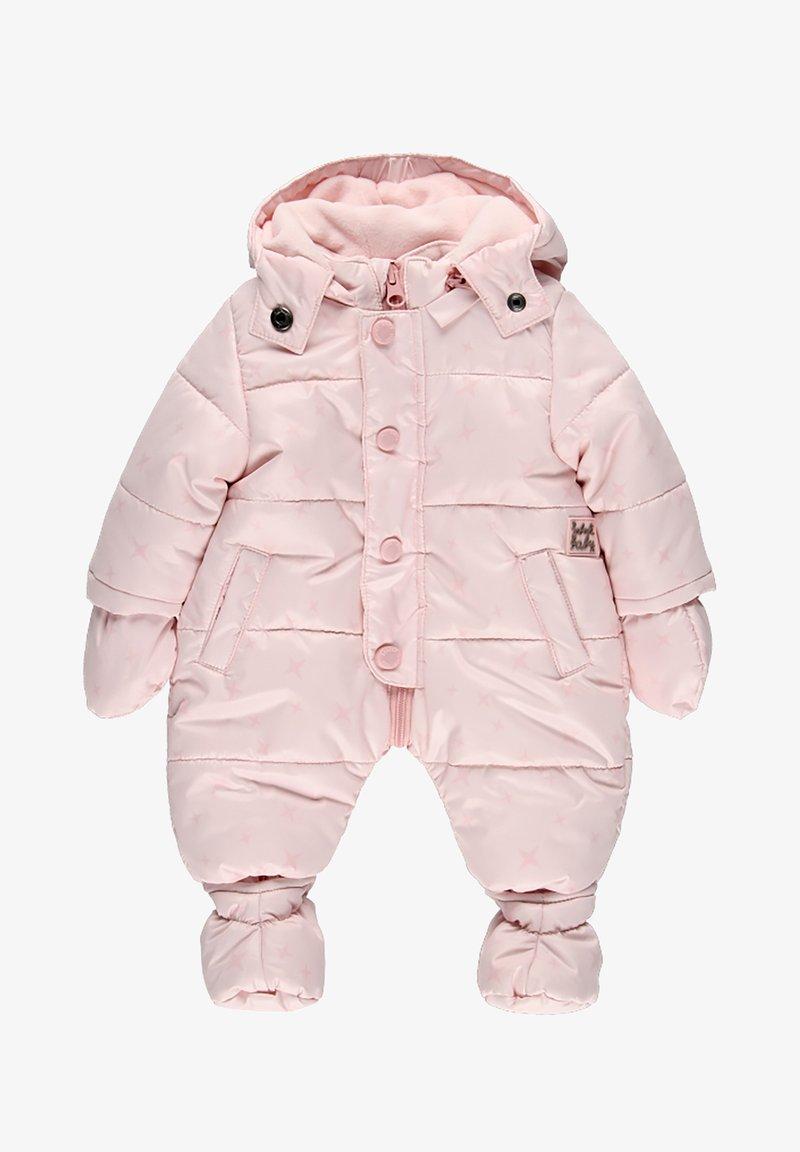 Boboli - SCHNEE KOMBI TECHNISCHES STOFF STERNE FÜR BABY - Lyžařská kombinéza - light pink