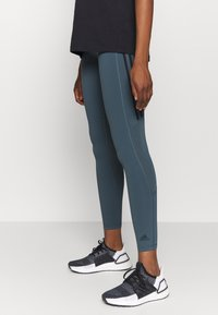 adidas Performance - Leggings - dark blue/black - 0