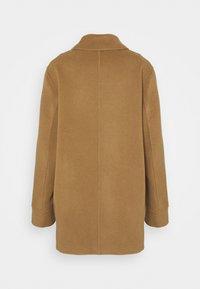 CLOSED - YANA SHORT DOUBLE BREASTED - Short coat - dark tan - 1