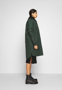 New Look - ROLL NECK DRESS - Strikket kjole - black - 3