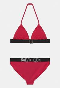 Calvin Klein Swimwear - TRIANGLE SET - Bikini - pink heart - 1