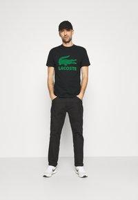 Lacoste - Camiseta estampada - noir - 1