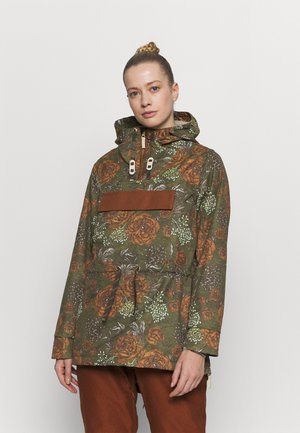 BAILEY JACKET - Kurtka snowboardowa - military olive