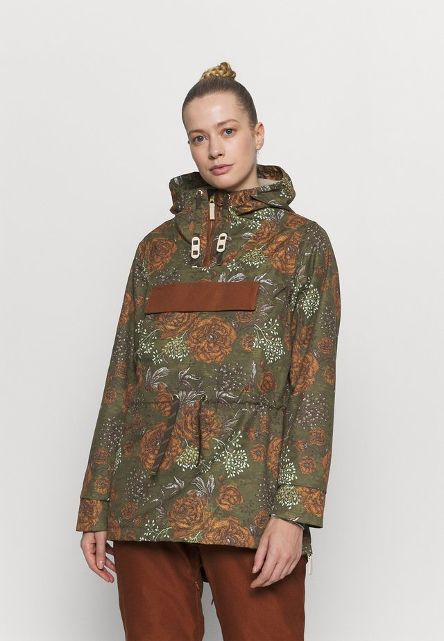 BAILEY JACKET - Snowboard jacket - military olive