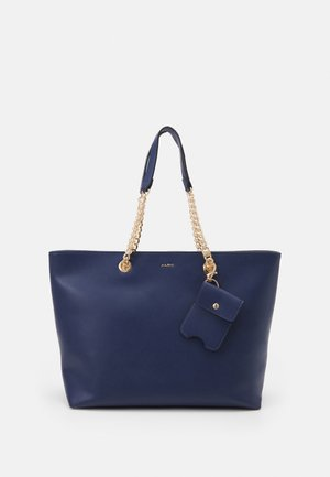 AILIDDA SET - Shopper - brazil blue/gold-coloured
