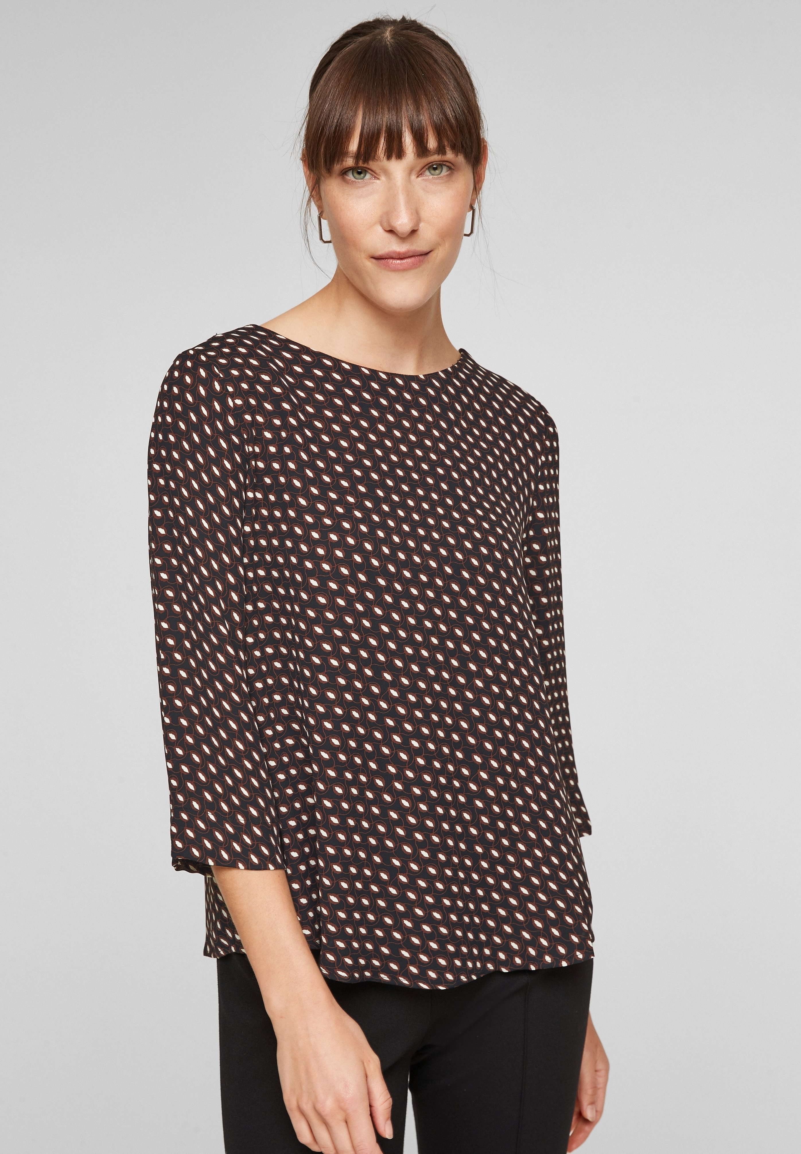 Femme MIT ALLOVERMUSTER - Blouse