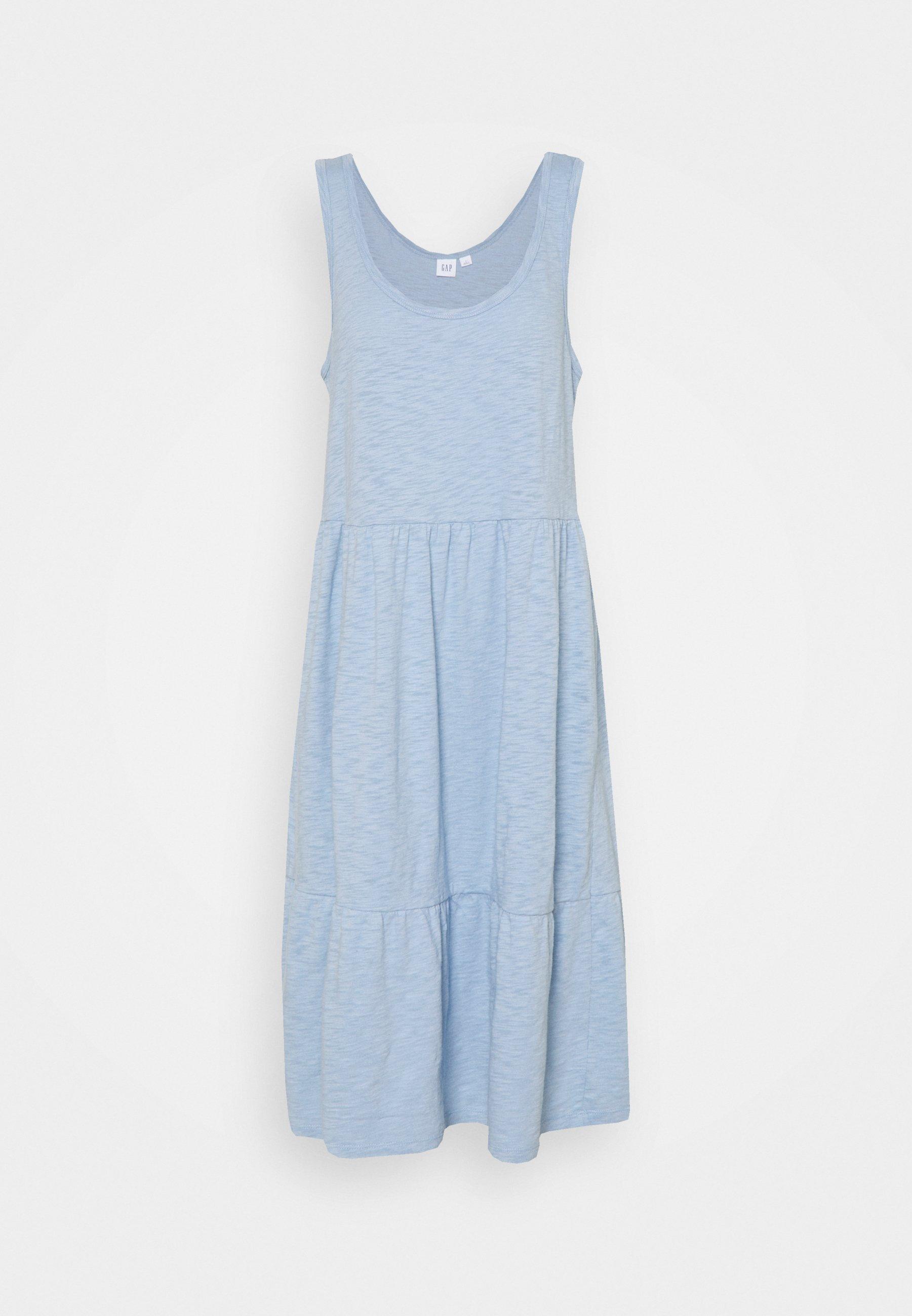 Women TIERED MIDI DRSS - Jersey dress