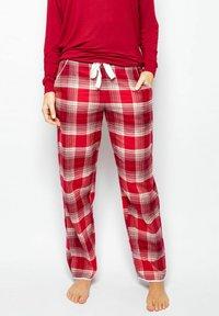 Cyberjammies - Pyjama bottoms - red chks - 0