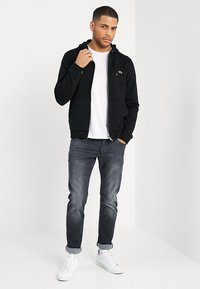 Lacoste - Zip-up hoodie - noir - 1