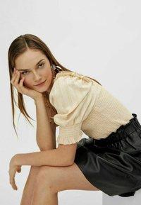 YAS - YASRORI - A-line skirt - black - 4