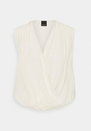 INES BODY HABUTAY SOFT TOUCH - Blouse - off-white