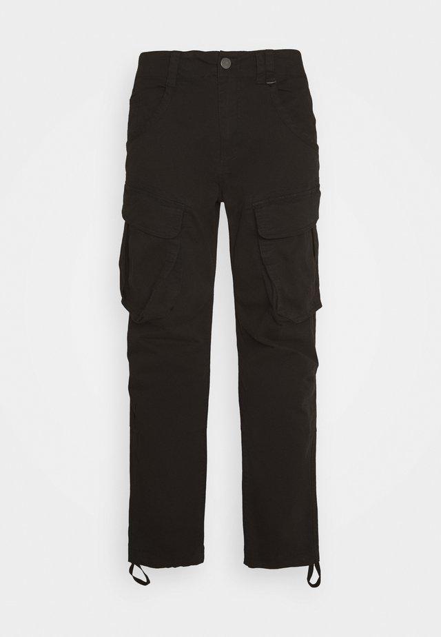 RUFO - Pantaloni cargo - black