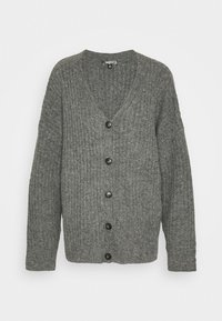 Missguided Tall - LOUNGE  CARDIGAN - Cardigan - grey - 0