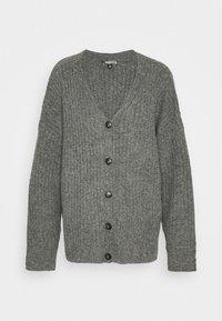 LOUNGE  CARDIGAN - Vest - grey