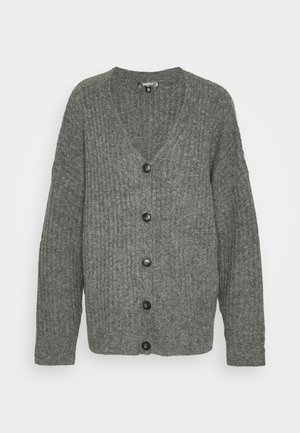 LOUNGE  CARDIGAN - Kardigan - grey