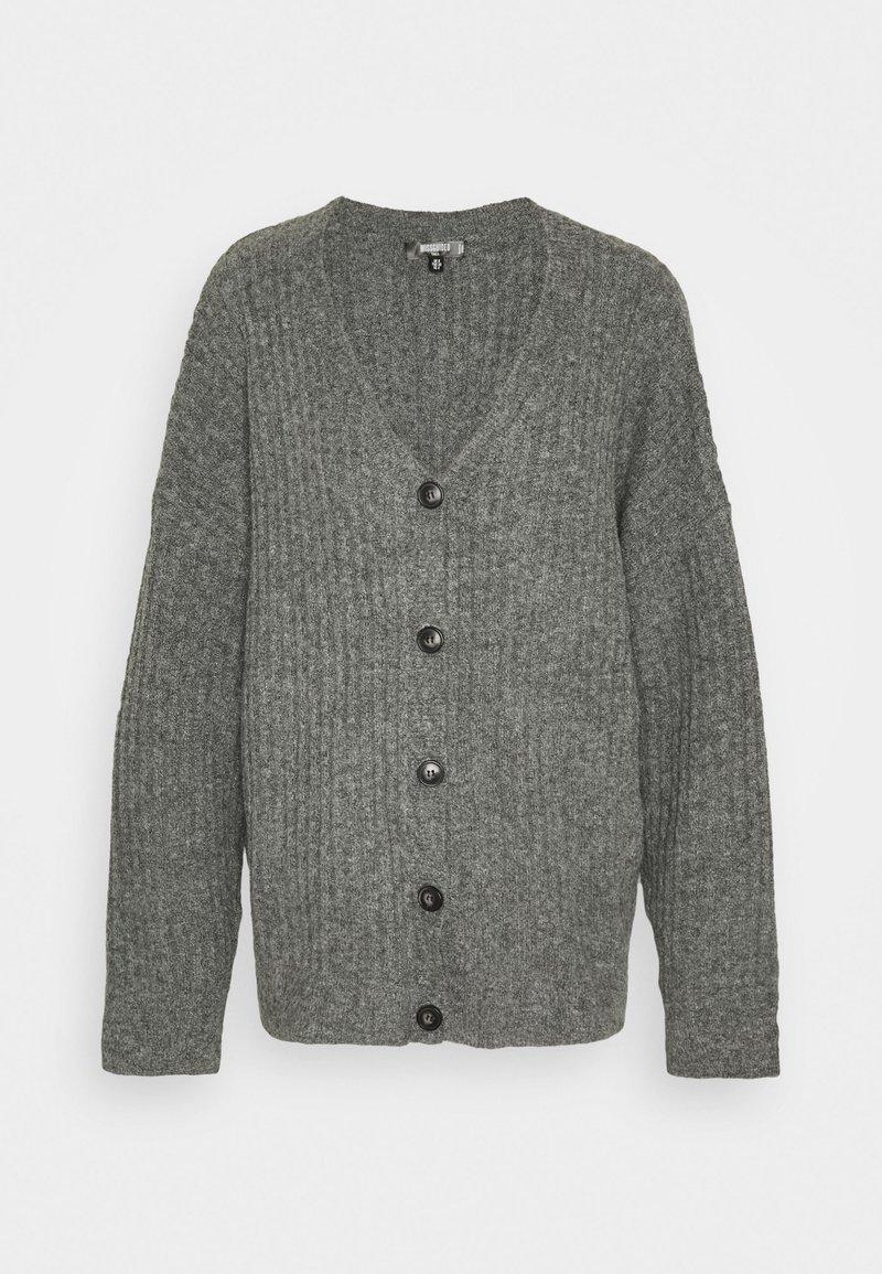 Missguided Tall - LOUNGE  CARDIGAN - Cardigan - grey