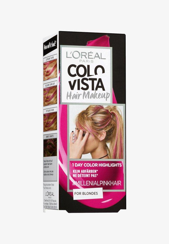 HAIR MAKEUP - Hair colour - 5 millenialpinkhair
