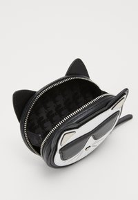 KARL LAGERFELD - IKONIK CHOUPETTE COIN PURSE - Wallet - black - 3
