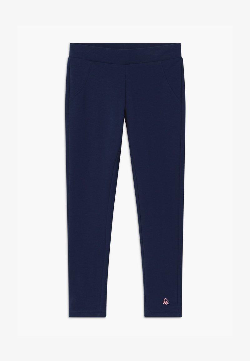 Benetton - BASIC GIRL - Teplákové kalhoty - dark blue