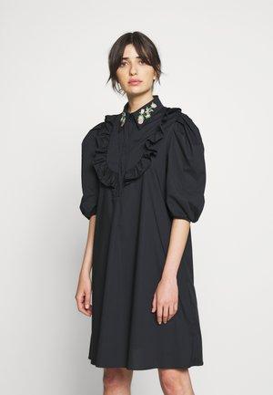 DRESS - Abito a camicia - black