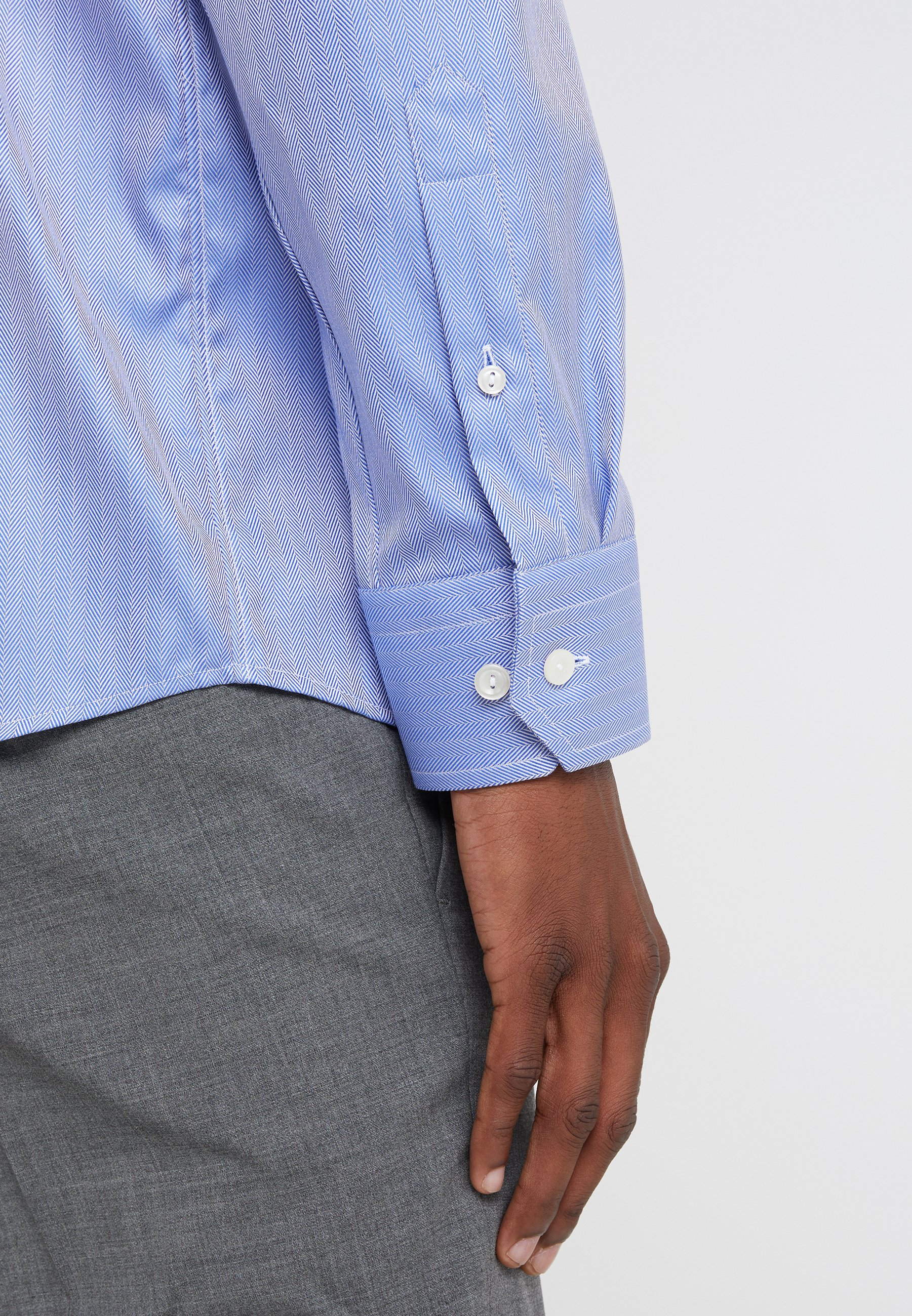Eton Slim Fit - Businesshemd Blue