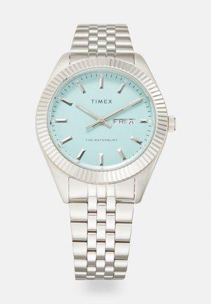 WATERBURY LEGACY UNISEX - Watch - silver-coloured/sky blue