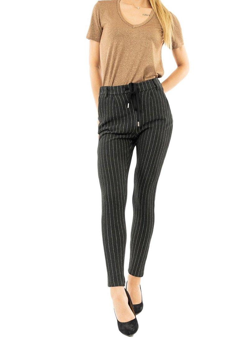 PLEASE - Trousers - gris