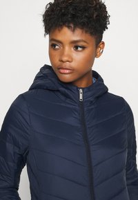 Hollister Co. - LIGHTWEIGHT PUFFER - Light jacket - navy - 3