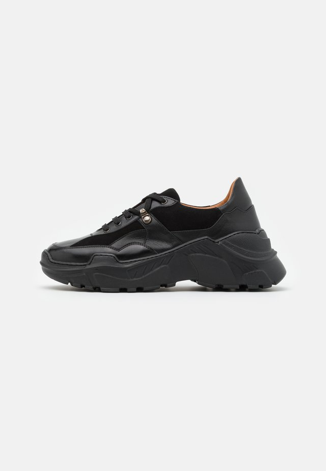 Sneakers laag - astor/palermo/nero