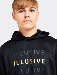 Illusive London Juniors - SOVEREIGN - Hoodie - black/gold - 2
