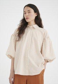 InWear - YOKOIW - Button-down blouse - honey stripe - 0