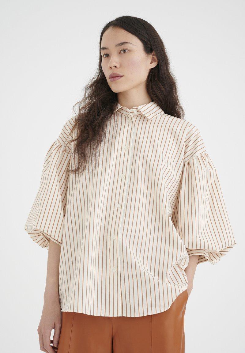 InWear - YOKOIW - Button-down blouse - honey stripe