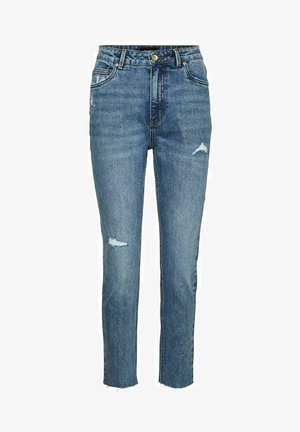 VMBRENDA  - Slim fit jeans - medium blue denim
