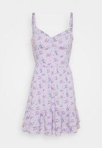 Hollister Co. - BARE SHORT DRESS - Day dress - lavender - 4
