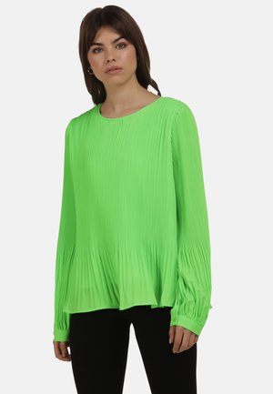 Blouse - neon grün