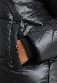 Urban Classics Curvy - LADIES VANISH PUFFER JACKET - Zimní bunda - black - 5