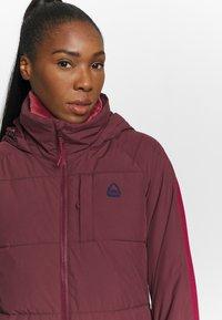 Burton - KEELAN - Snowboard jacket - dark red - 5