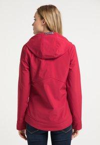 Schmuddelwedda - Outdoor jacket - rot - 2