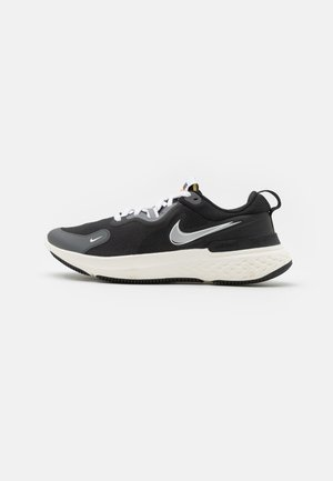 REACT MILER PRM - Neutral running shoes - black/metallic silver/dark grey/white