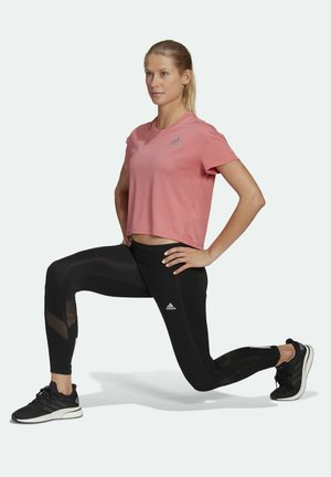 ADIZERO AEROREADY PRIMEBLUE RUNNING - T-shirt con stampa - pink
