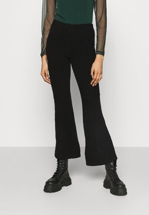 FANNA TROUSERS - Pantaloni - black