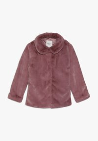 Name it - NKFMONAE FAUX FUR JACKET - Summer jacket - dusty rose - 0
