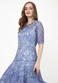 Madam-T - Cocktail dress / Party dress - indigo - 4