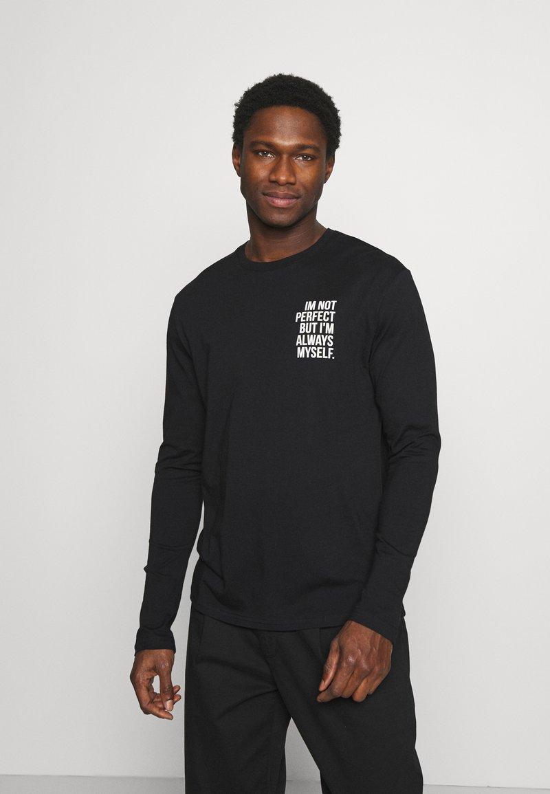 Pier One - Long sleeved top - black